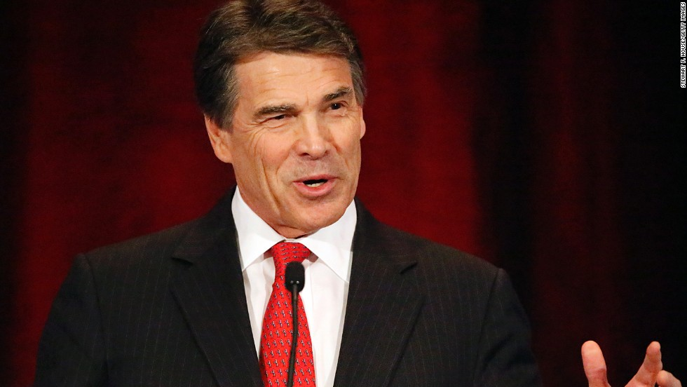 Republican Texas Gov. Rick Perry announced in 2013 that he would not be seeking re-election, leading to speculation he might mount a second White House bid.