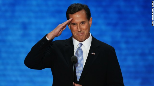 Rick Santorum's endorsement splurge