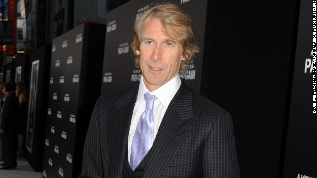 Director Michael Bay at the April 2013 premiere of his film,