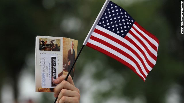 Poll: Tea Party's favorable numbers take a hit
