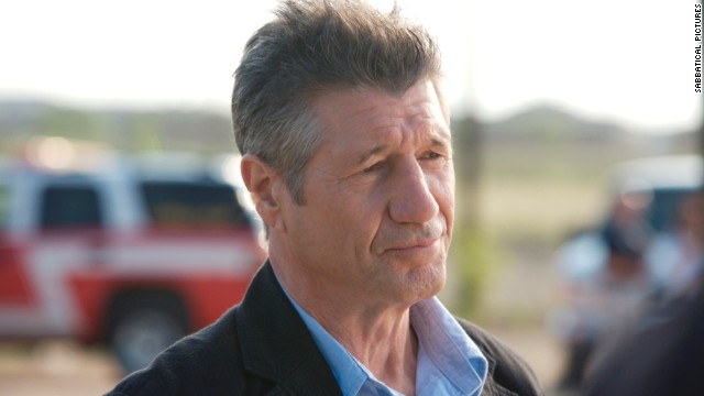 "Fred Ward does grizzled pretty well. According to IMDB, he has appeared in three movies with titles containing states: ""Sweet Home Alabama,"" ""Florida Straits,"" and ""The Prince of Pennsylvania."""