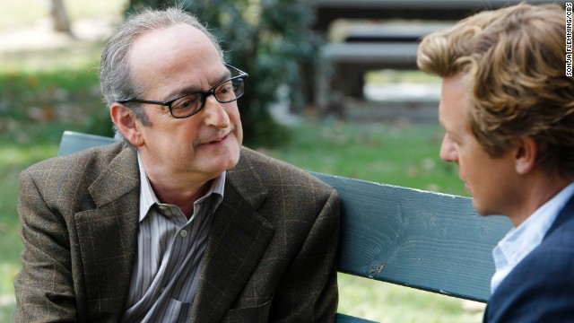 "David Paymer, left, is recognizable from shows like ""The Mentalist"" with Simon Baker."