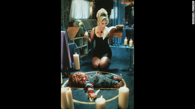 "Jennifer Tilly has appeared in several movies, including ""Bride of Chucky."""