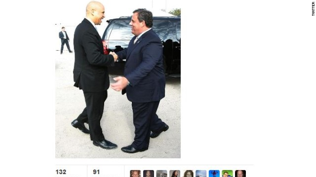 Christie and Booker meet