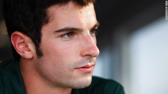 Alexander Rossi is getting ready for a run in front of his home fans in Texas.
