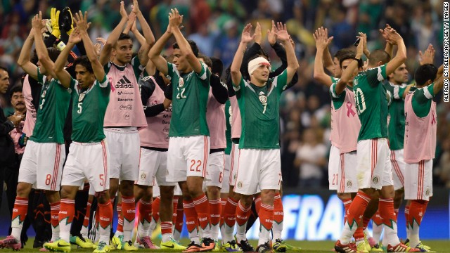 Mexico beat Panama in a World Cup qualifier last week but struggled throughout the qualifying campaign.