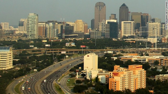 Downtown Dallas, Texas.
