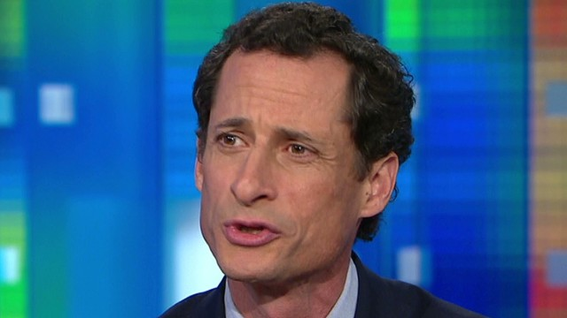 Anthony Weiner spoke with Piers Morgan in 2013