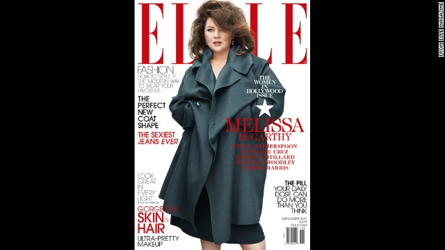 Melissa McCarthy responds to Elle controversy