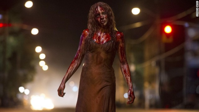 Chloe Moretz stars as Carrie White in