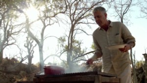 Bourdain: Meat on plate, blood on pants