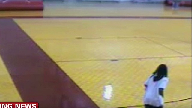 School Attorney Others In Surveillance Footage Of Gym Mat