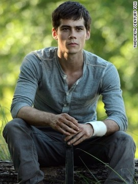 "The first novel in James Dashner's dystopian sci-fi trilogy ""The Maze Runner"" had a strong opening weekend in September 2014. Dylan O'Brien plays the young hero Thomas in a post-apocalyptic world."