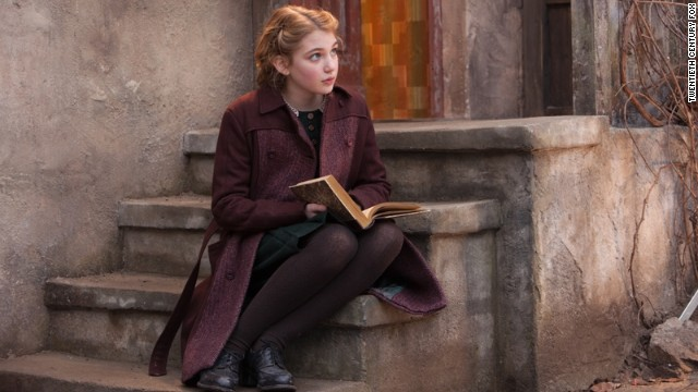 "The film adaptation of Markus Zusak's award-winning novel ""The Book Thief"" brings to life young Liesel's struggle to steal books and share them with the Jewish refugee in her home against the backdrop of WWII Germany. Sophie Nelisse plays Liesel Meminger in this story, narrated by Death. It reached the big screen in November 2013."
