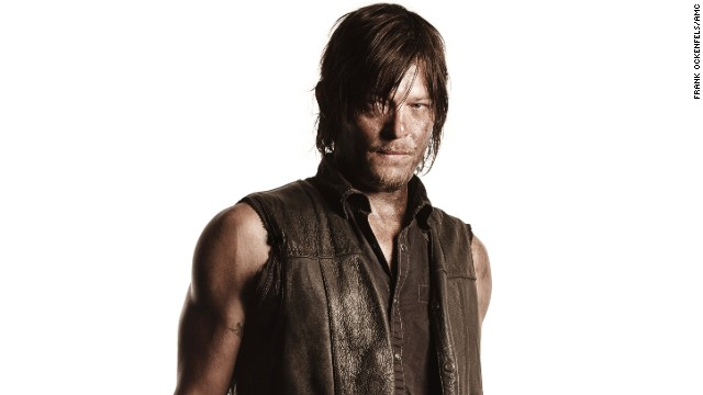 Norman Reedus plays Daryl Dixon on AMC's smash hit