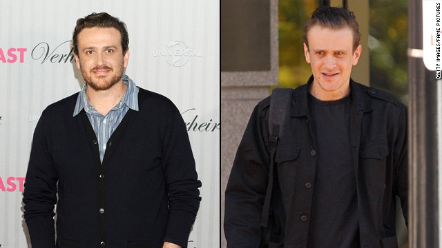 "Jason Segel has been working hard to shed weight for his role in the upcoming comedy ""Sex Tape,"" which also stars Cameron Diaz. The 33-year-old actor said that adopting a healthier lifestyle was key."