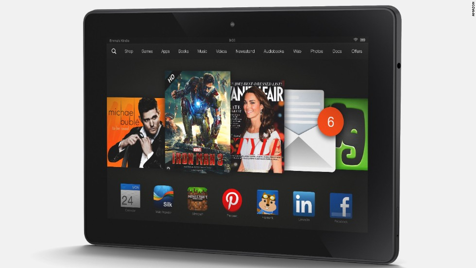 <strong>Kindle Fire HDX.</strong> OK, so the Kindle Fire HDX is a tablet and therefore familiar. But it comes with something unfamiliar: a <a href='http://www.cnn.com/2013/09/25/tech/mobile/kindle-customer-service/'>human tech support representative</a> available at the touch of a button. This could be the tablet for your tech-unsavvy relatives. (Amazon.com, $229-309 depending on memory size)