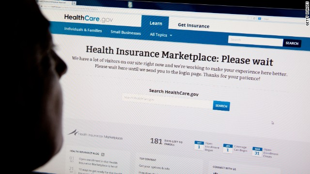 In the Crossfire: Obamacare sign up fiasco