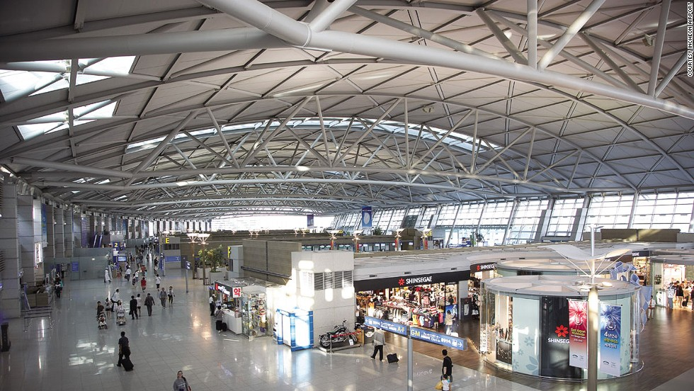 Segundo mejor aeropuerto para dormir: Incheon