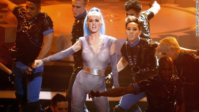 Katy Perry performs at the Echo Awards 2012 on March 22, 2012, in Berlin.