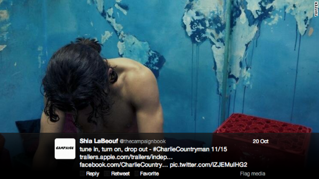 "It's just too easy to make the joke about Shia LaBeouf's loving to be in ""la buff."" He recently tweeted a nude photo of himself from the 2013 film ""Charlie Countryman"" and <a href='http://music-mix.ew.com/2012/06/18/shia-labeouf-nude-sigur-ros-video/' target='_blank'>has not been shy about appearing naked</a> in movies and a music video."