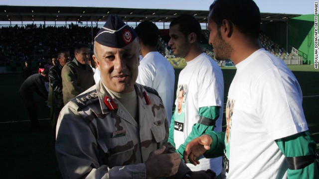 Libya\'s footballers in the firing line
