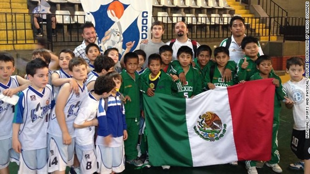 The victorious Triqui Indian boys team from Mexico, nicknamed the