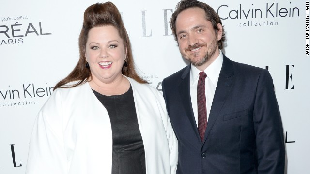 """The Heat's"" Melissa McCarthy, 43, and her husband, Ben Falcone, 40, have been married since 2005."