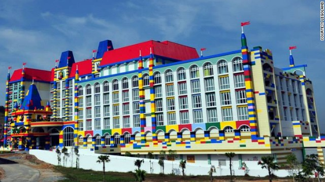 The Legoland Malaysia Hotel is due to open in early 2014. The 249-room hotel will become the world's fourth Legoland Hotel.