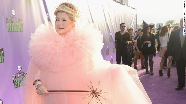 We can't be the only ones who secretly wish that Martha Stewart really <i>was</i> our fairy godmother, like she pretended to be at the Hub Network's first Halloween party in October 2013.