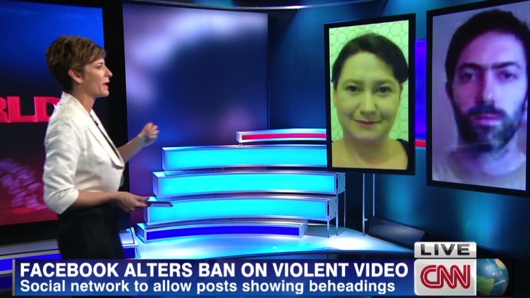 Facebook alters graphic video ban...