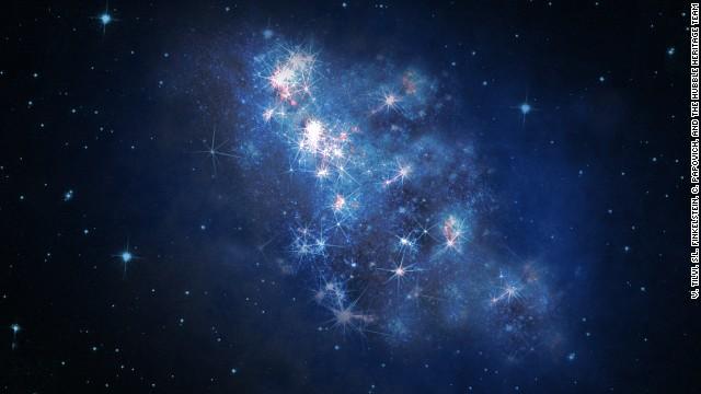 Científicos descubren la galaxia más lejana detectada hasta ahora