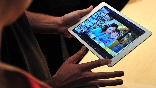 A report says the next iPad will have a 12.9-inch screen, much bigger than the current iPad's 9.7.