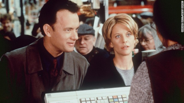 "Ephron co-wrote ""You've Got Mail,"" featuring Tom Hanks and Meg Ryan, with her sister Nora."