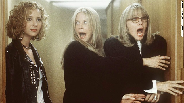 "Lisa Kudrow, from left, Meg Ryan, and Diane Keaton starred in ""Hanging Up,"" co-written by Delia Ephron."