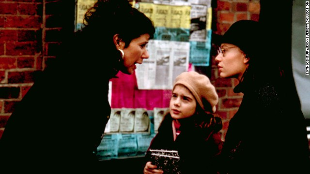 "With her sister Nora, Ephron wrote 1992's ""This Is My Life,"" starring Julie Kavner, from left, Gaby Hoffman and Samantha Mathis."