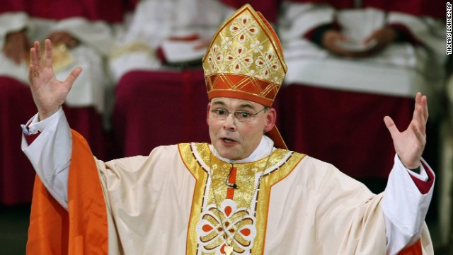 German 'Bling Bishop' suspended