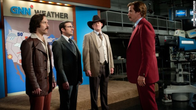 'Anchorman 2': New trailer, new ice cream