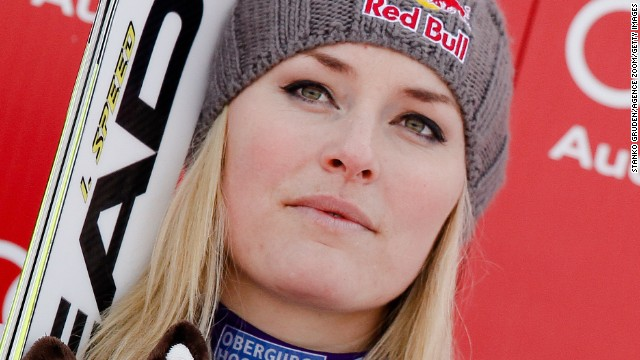 Lindsey Vonn, who is currently dating former IMG client Tiger Woods, hopes to be going for Olympic gold in the skiing events at Sochi 2014.