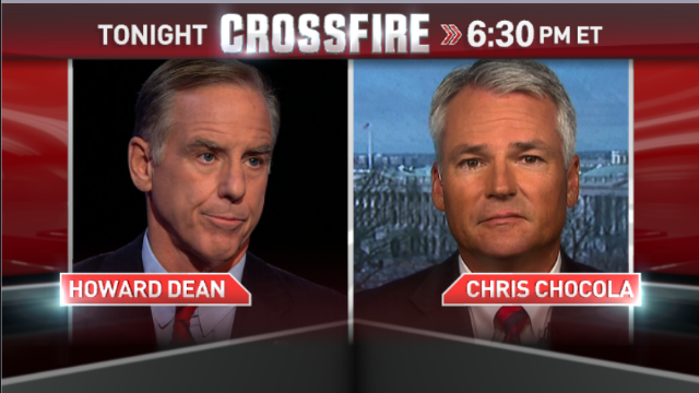 Upgrade Obamacare? Dean and Chocola debate in the Crossfire