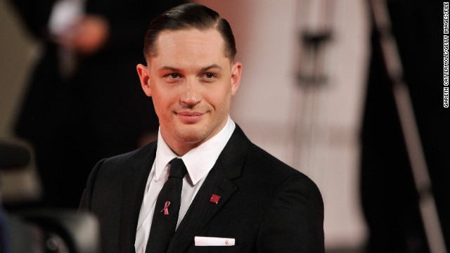 Tom Hardy arrives at the 2013 Venice International Film Festival premiere of