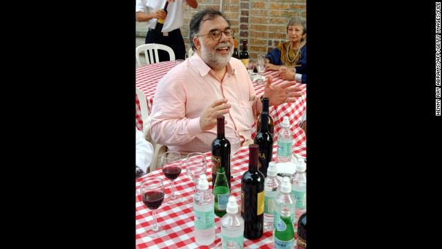 Director Francis Ford Coppola is also a winemaker. His <a href='http://www.franciscoppolawinery.com/' target='_blank'>Francis Ford Coppola Winery</a> in Geyserville, California, has produced several highly rated vintages.