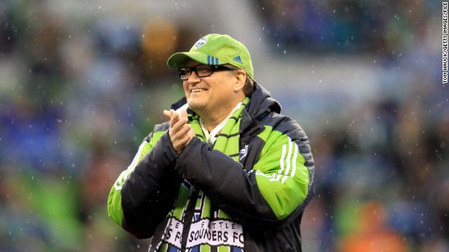 Drew Carey has a particular interest in Major League Soccer's Seattle Sounders. He owns a share of the team.