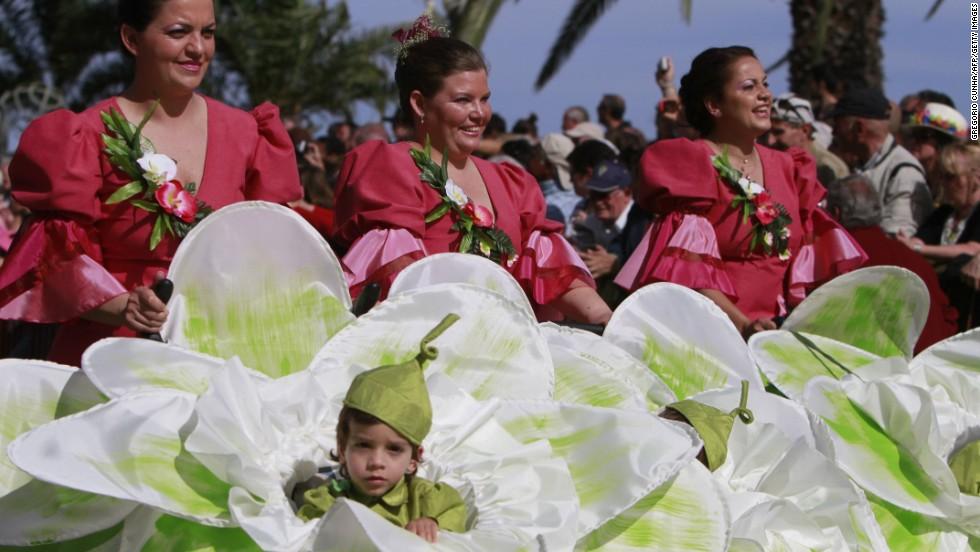 Festival de las Flores de Madeira, Portugal