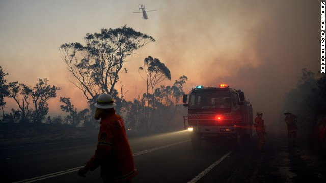 Photos: Australian bush fires