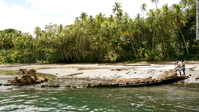 In places like the Solomon Islands -- where this World War II Japanese patrol boat wreck is located -- lack of infrastructure and travel services make solo travel too expensive for many travelers.