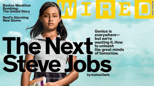El próximo Steve Jobs es... una niña mexicana, según la revista Wired