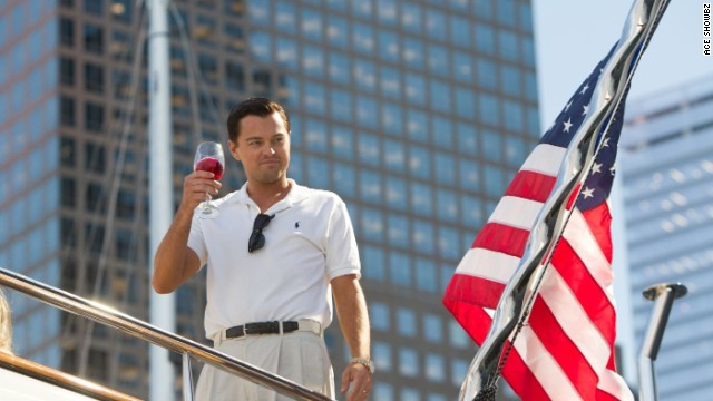 Leonardo DiCaprio plays Jordan Belfort in the film