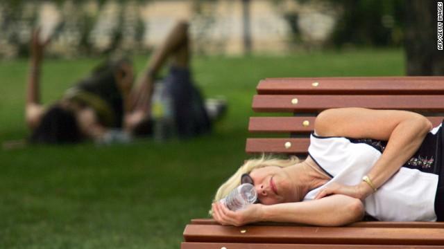 La siesta española corre peligro en medio de la crisis económica