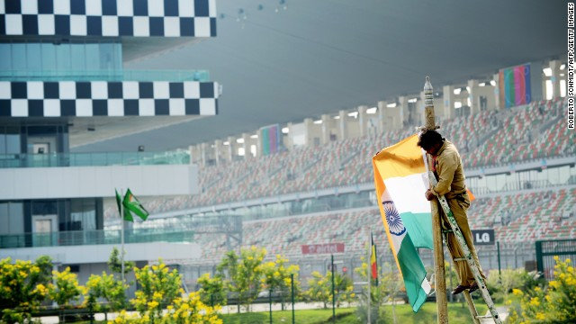 F1: Uncertain future for Indian Grand Prix